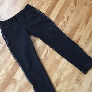 Gap skinny ankle black pants size 4